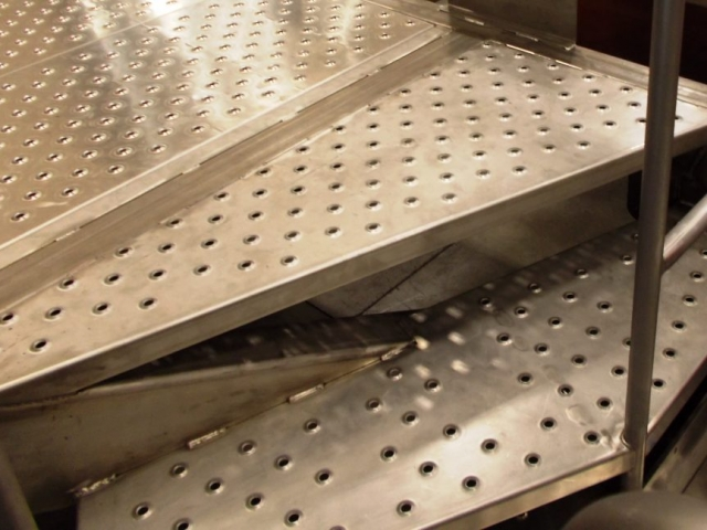 Punched and Formed Stairs